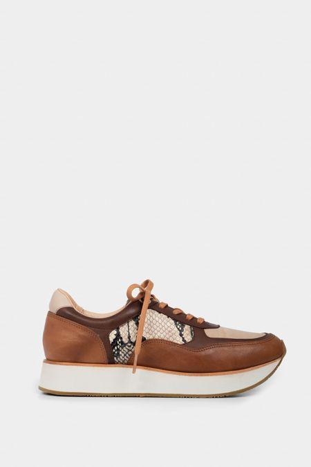 Sneaker-de-cuero