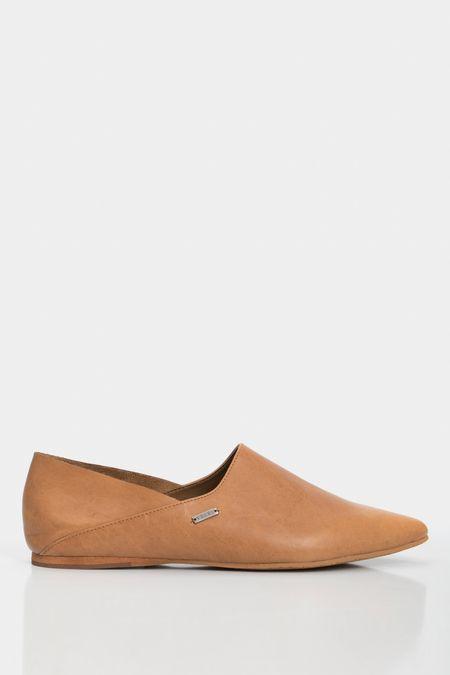 Slippers-de-cuero